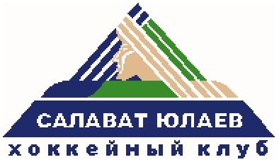"""Схема вышивания Логотип хоккейной команды """"Салават Юлаев"""""""